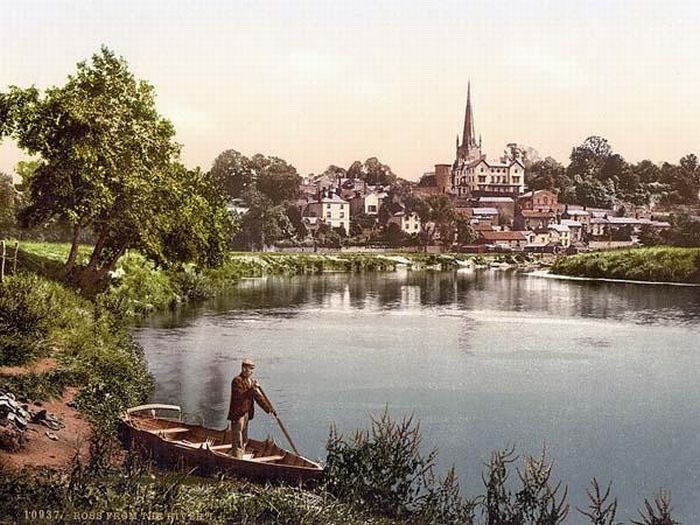 Color Photographs of Old England (63 pics)