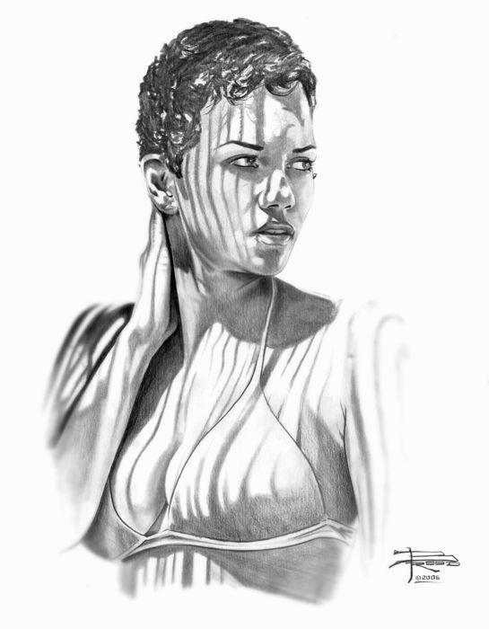 """Автор схемы  """"Рисунок девушки """".  Размеры: 148 x 190 крестов. схема. saxara.  0. оригинал.  Картинки."""
