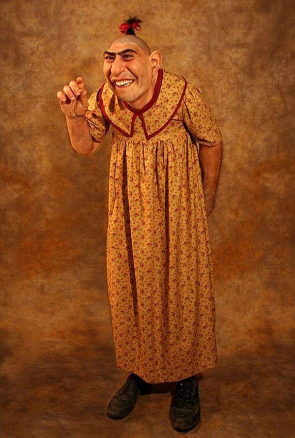 Schlitzie Surtees - The Most Famous American Freak (22 pics)