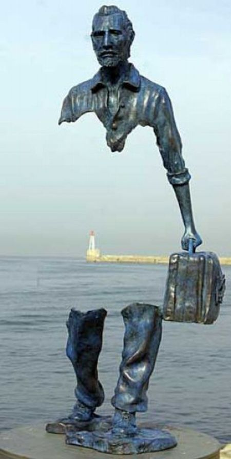 Unusual French Sculptures by Bruno Catalano (13 pics)