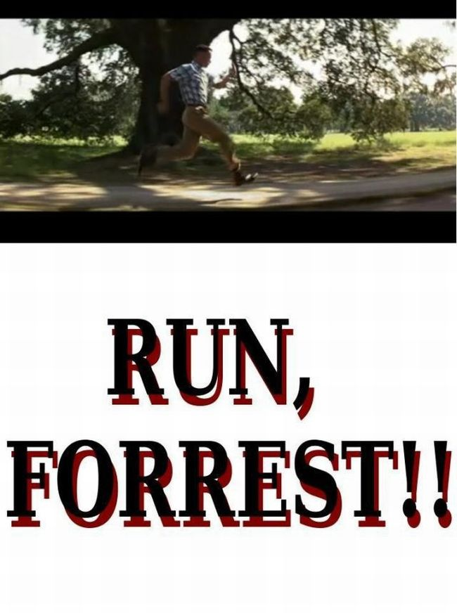 Alternative Ending of Forrest Gump (10 pics)