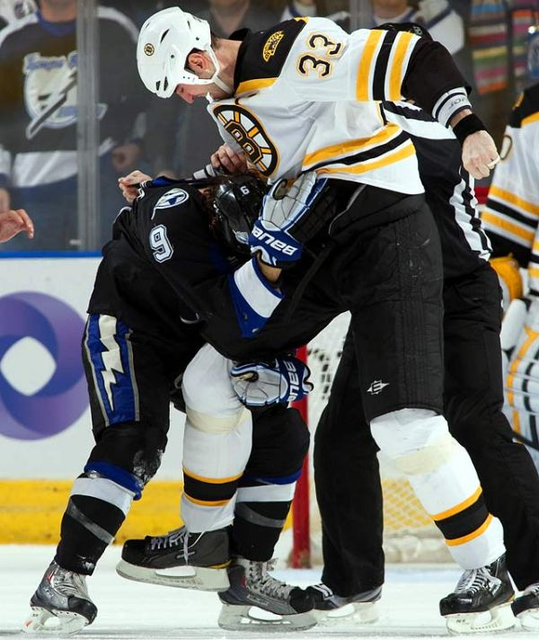 NHL's Toughest Fighters (10 pics)