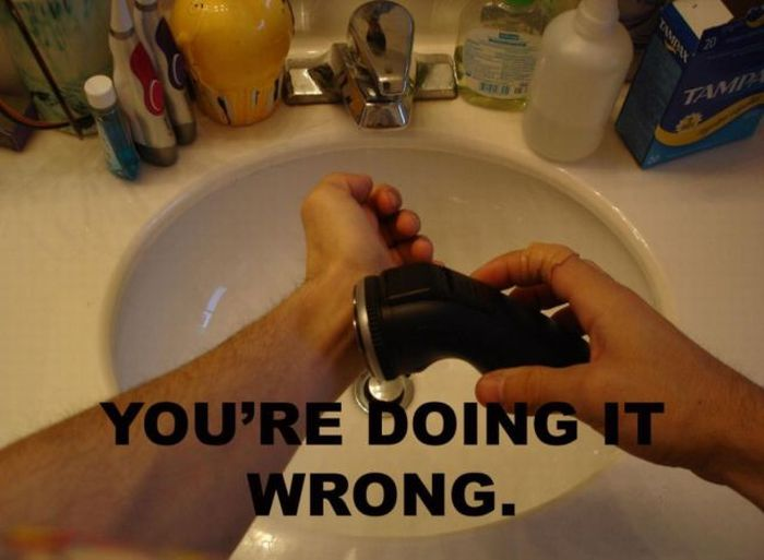 You Are Doing It Wrong (42 pics)