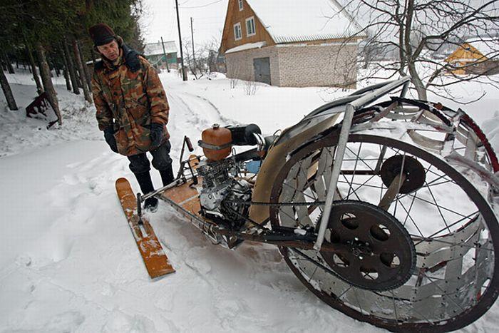 Homemade Snowmobiles (12 pics)
