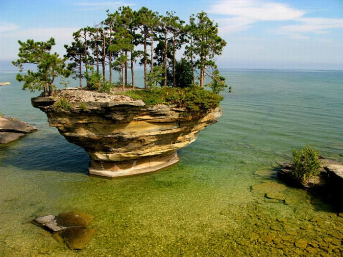 Turnip Rock - Beautiful Place (25 pics)