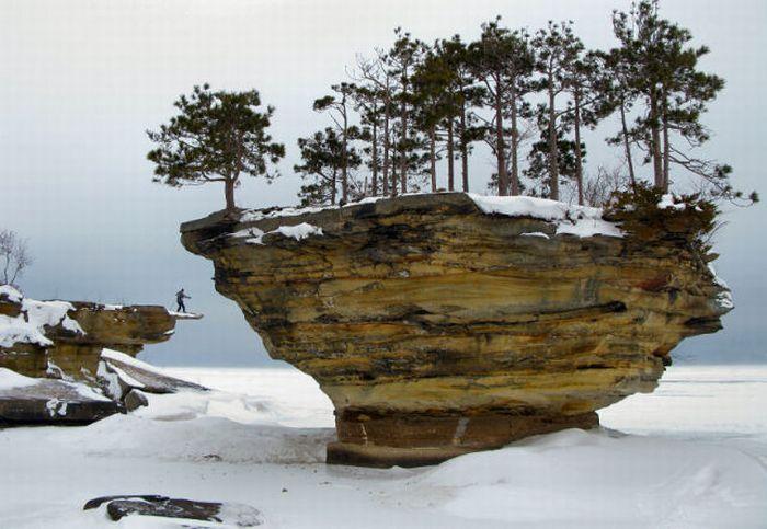 Turnip Rock - Beautiful Place (25 pics)