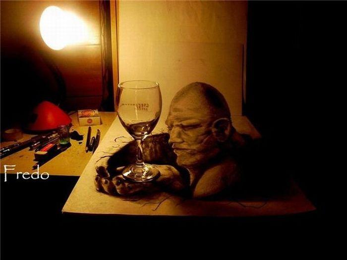 Amazing 3D Art (10 pics)