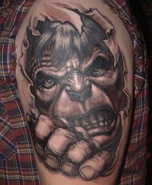 Superhero Tattoos (83 pics)
