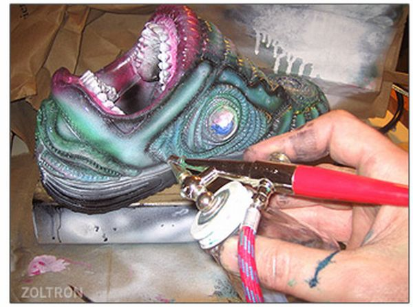 Horror Sneakers (10 pics)
