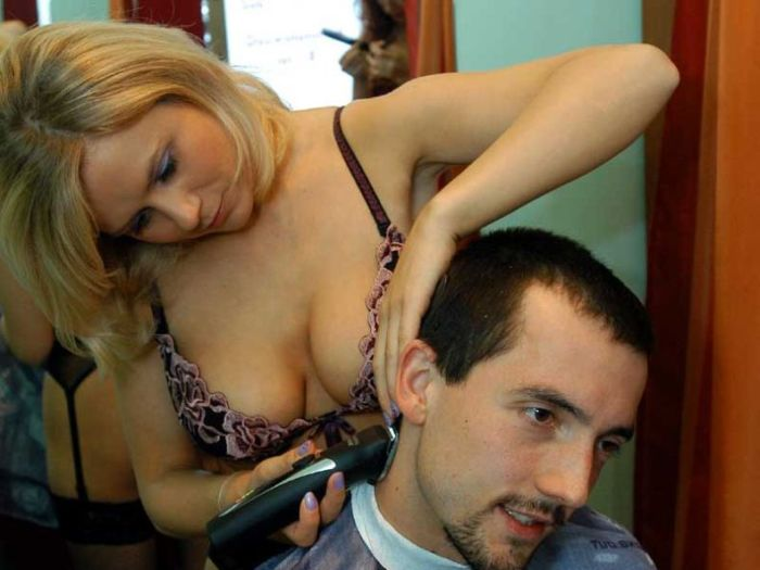 Sexy Hotcut Barber Shop in Poland (9 pics)