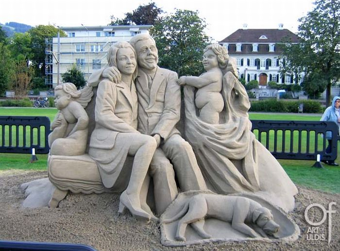 The Best of Sand Sculptures (32 pics)