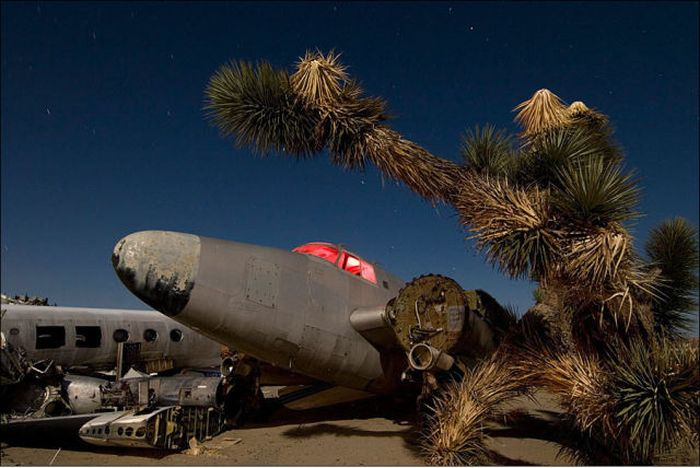 Abandoned Airplanes of America (48 pics)