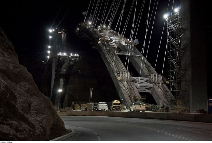 The Construction of Hoover Dam Bypass (33 pics)