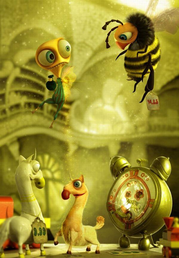 Funny 3D CG Creatures (45 pics)