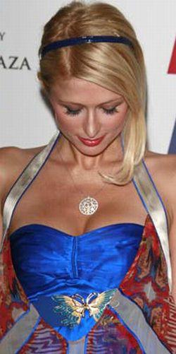 Paris Hilton Transfixed by Own Boobs (19 pics)