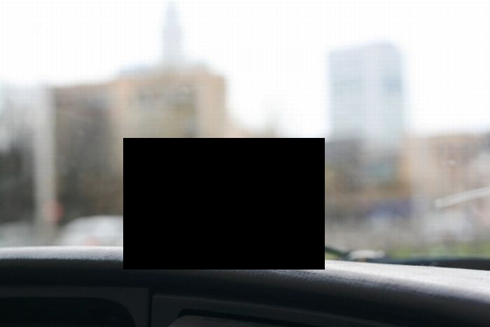 The Cheapest GPS Navigation Holder Ever (2 pics)
