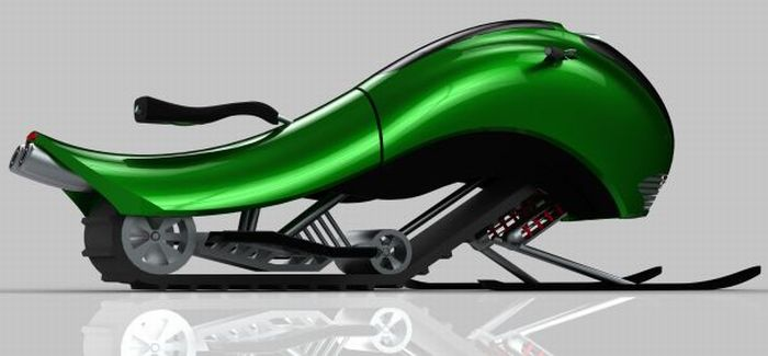 Hima Snowmobile Concept (7 pics)