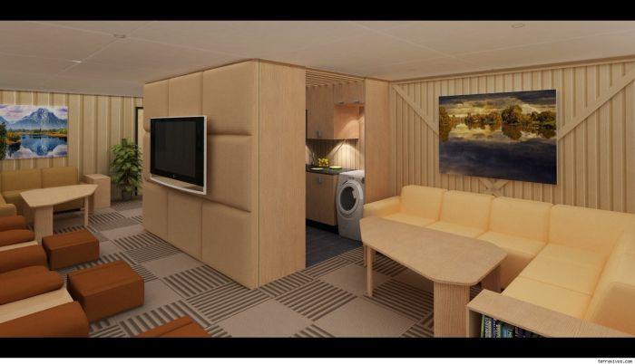 Modern Bomb Shelter (9 pics)