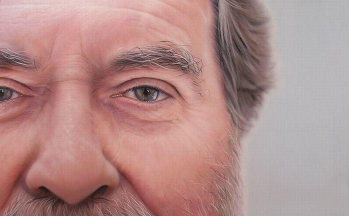 Realistic Human Paintings (14 pics)