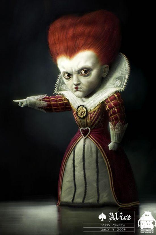 Alice in Wonderland Concept Art (20 pics)سایت تاپ بهترین سایت تفریحی ایران - sitetop.ir