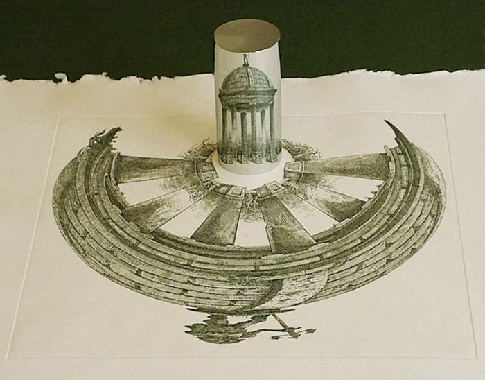 Amazing Anamorphic Art (19 pics)