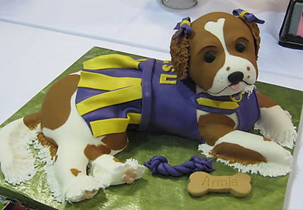 Amazing Dog-Shaped Cakes (12 pics)