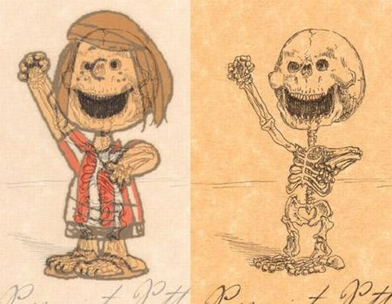 Anatomy of Cartoon Heroes (21 pics)