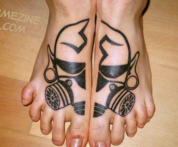 Crazy Foot Tattoos (35 pics)