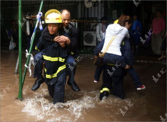 Flooding in China (31 pics)