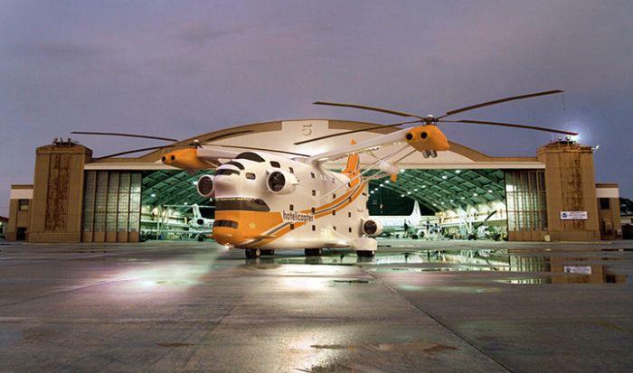 Hotelicopter (9 pics)