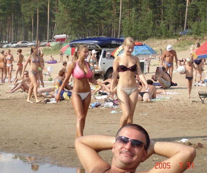 Sexig tjej i bikini 2