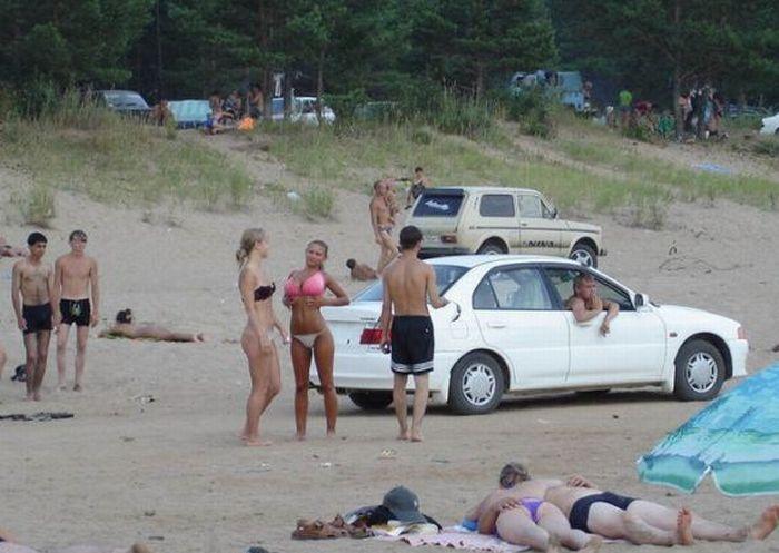 Sexig tjej i bikini 5