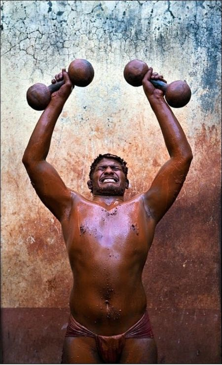 Kushti. Indian Wrestling (30 pics)
