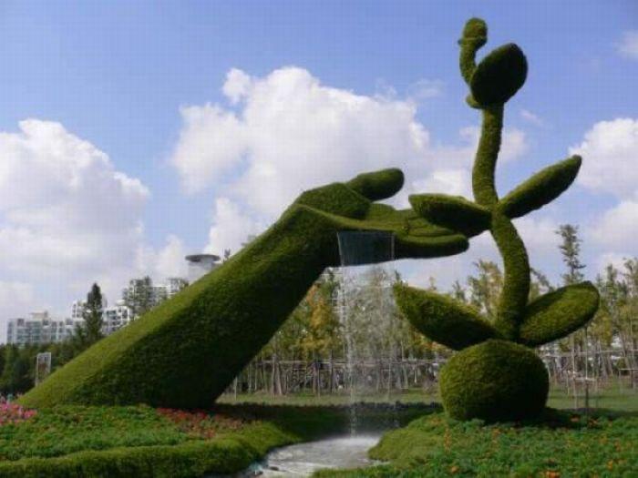 Jardines creativos   taringa!