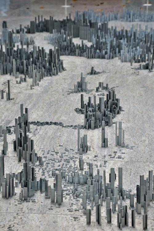 Ephemicropolis by Peter Root (9 pics + video)