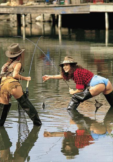 Naked Ladies Fishing