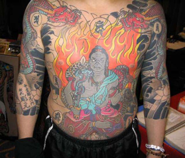 Japanese Tattoos (13 pics)