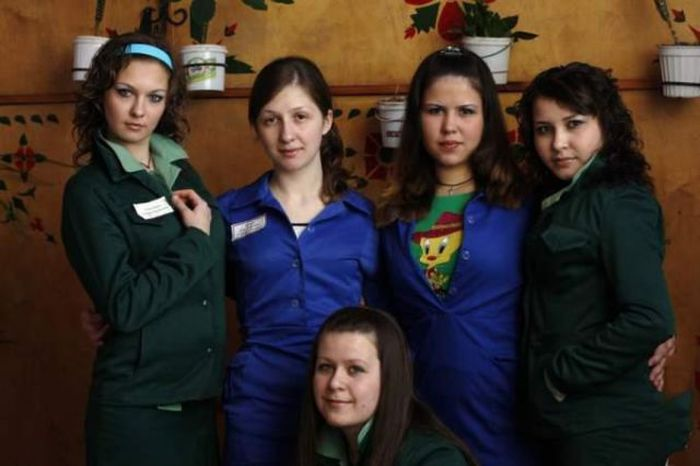 Russian Girls in Prison (30 pics)