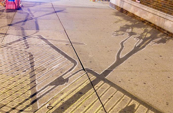 Using Shadows to Create a Street Art (23 pics)