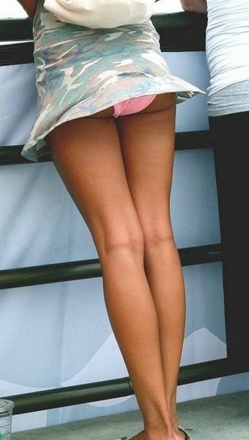Why Girls in Skirts Hate Wind (60 pics)