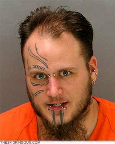 The Best of Mugshot Tattoo Fails (59 pics)