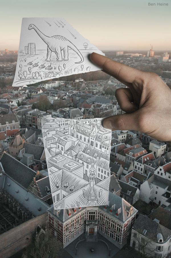 Pogled na grad iz ptičje perspektive