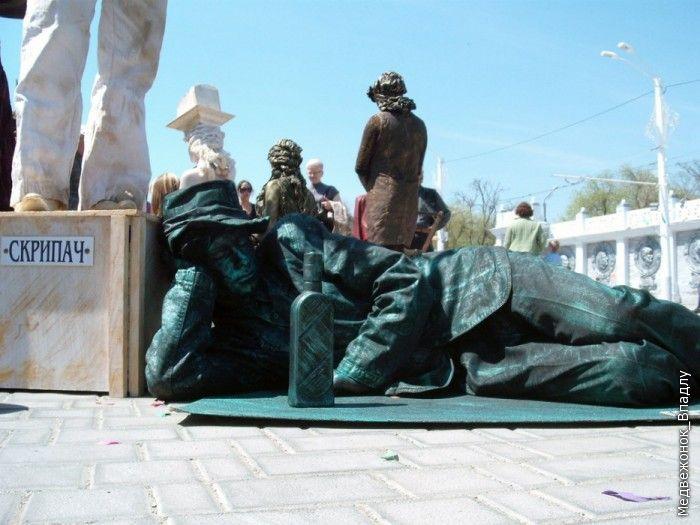 Statues vivantes Living_statues_contest_13