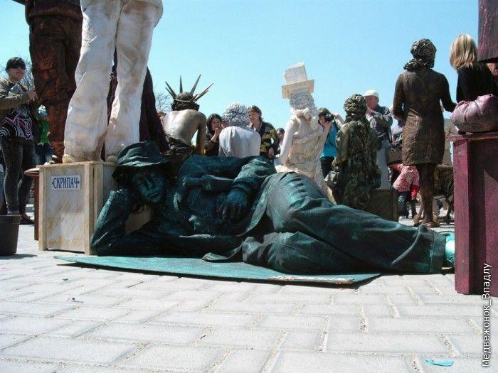 Statues vivantes Living_statues_contest_14