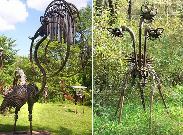 Giant Steampunk Sculptures (23 pics)