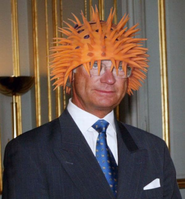 King Carl XVI Gustaf of Sweden And His Silly Hats (22 pics)