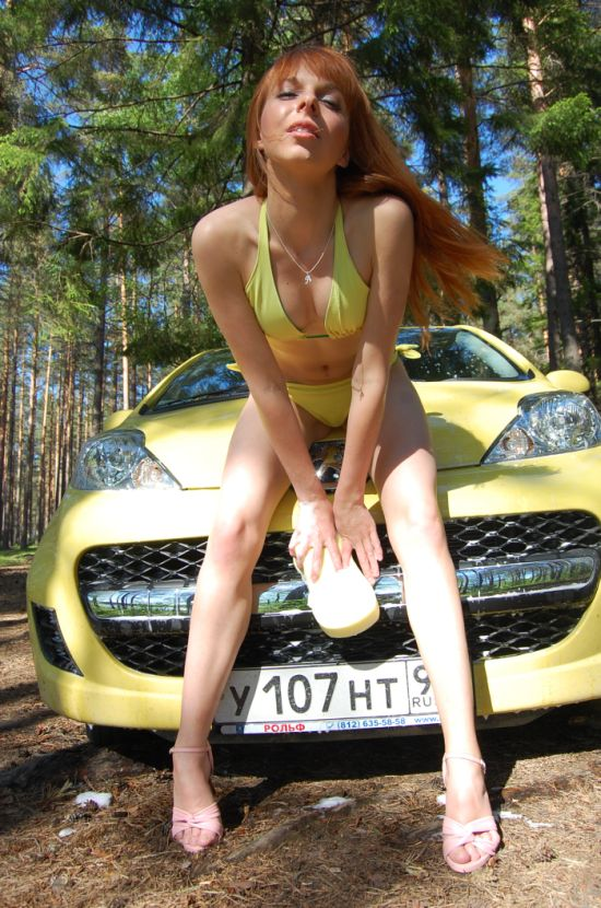 Russian Girls And Cars 50 Pics-2549