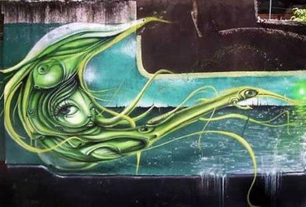 Amazing Graffiti in Brazil (13 pics)