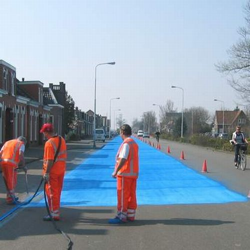 The Blue Road in Netherlands (24 pics)