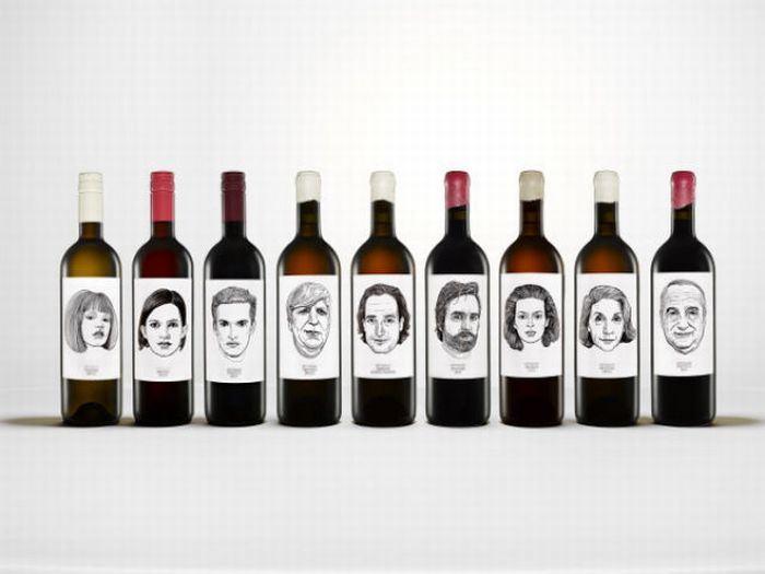 Different Types of Wine Bottles (30 pics)